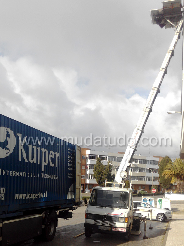 exterior removals, changes with elevator, exterior elevators, changes with exterior elevator, lift truck